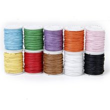 Color Mixed Cord Cotton Wax String