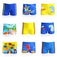 Boys Swimming Trunks Kids Cartoon Printed Thin Beach Swimsuit Boy Boxer Suits Swimwear pants shorts Plus Size Men underwear