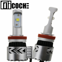 1Pair 9005 9006 9012 H7 H8 H9 H10 H11 H16 Car HeadLight Bulbs Conversion Kit Light