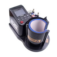Free shipping by DHL Mini Pneumatic Vertical Multi function Heat Transfer Press Thermal Printing Mug Cup Machine ST110
