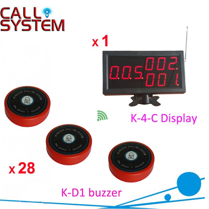 K-4-C K-D1-R 1+28 Restaurant table order system