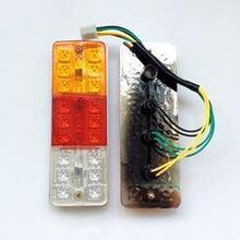 Электрический трицикл задний фонарь в сборе стоп-сигнал Задний сигнал поворота обратный один № 5 задние фонари 72 в шесть линий Три света
