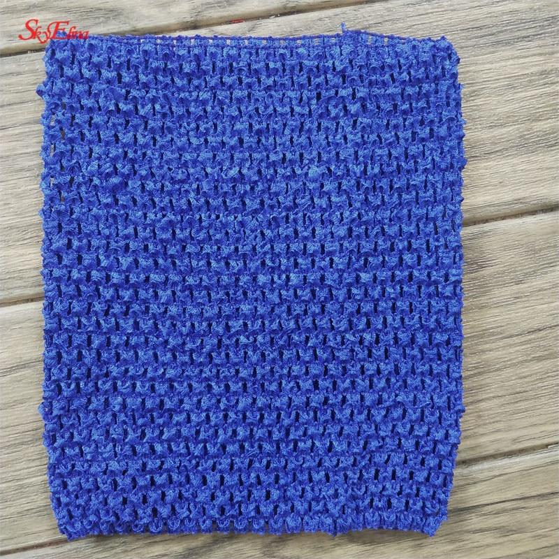 20  23 cm Children Handmade Wrapped Chest Elastic Baby Girl Crochet Tube Tops Wide for Tulle skirt DIY Dress material 5Zsh939 (60)