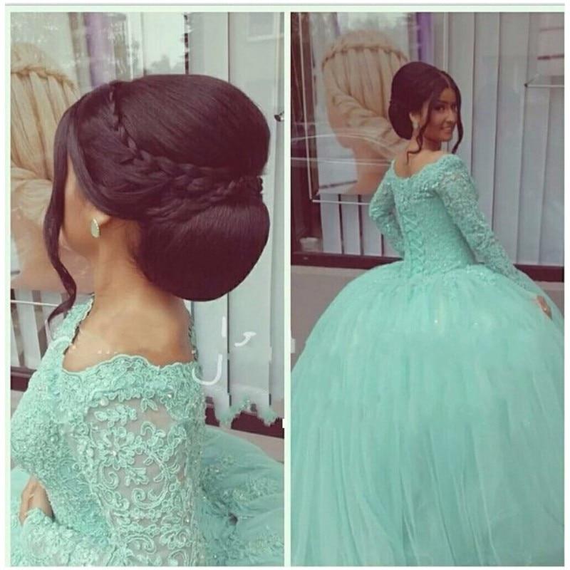 Quinceanera Dresses 2014 Mint Sweet 16 Ball Gowns Mi...