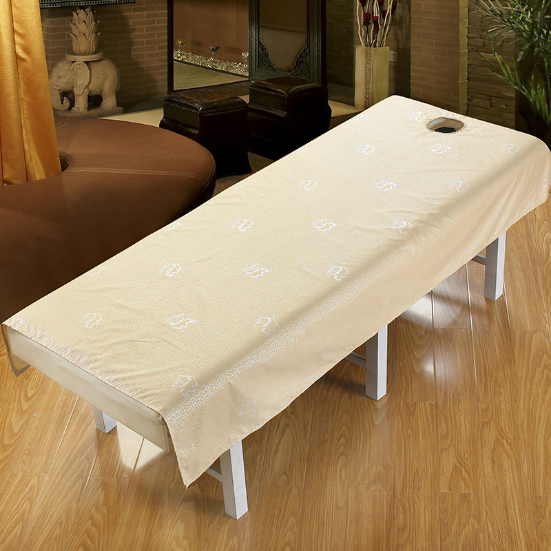 Polyester Cotton Beauty Salon Sheets SPA Massage Bed Linens With Hole  Waterproof Dedicated Adult Flat Sheet Table Bed Cover In Sheet From Home U0026  Garden On ...