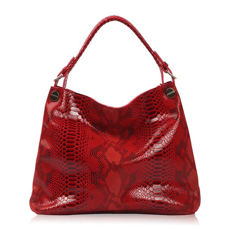 Véritable 2019 Vache À Marque Beige Nouvelle 100 Bandoulière Fille Dames En Cuir Sacs Luxe Main Sac De Mode Femmes noir rouge Serpentine Femme 8SX8zF
