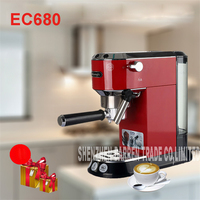 EC680 220V 240 11 15 Cups Coffee Maker Pot For Household Stainless Steel Moka Espresso Coffee