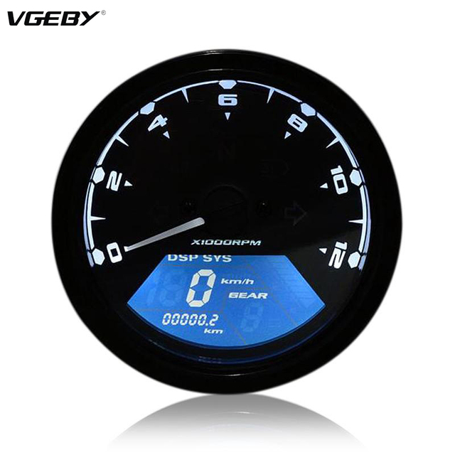 Aliexpress Com   Buy 12000rmp Lcd Digital Speedometer