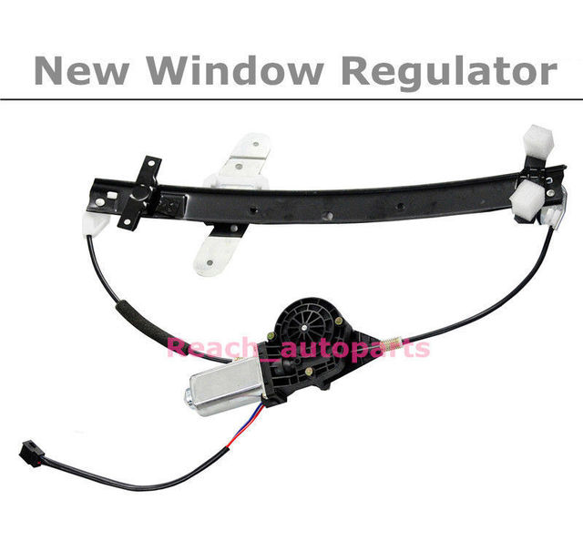 Front Driver Side Window Regulator w/Motor For Ford Crown Victoria Grand Marquis