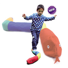 Children Balanced Snake Kindergarten Seneory Toys Outdoor Game For Children Medaille Sport Education Training Outdoor Toys