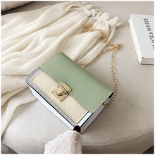 Shoulder Bag Ladies New Style Flap Wide Strap Fashion Slanting Korean Version Of Small Square