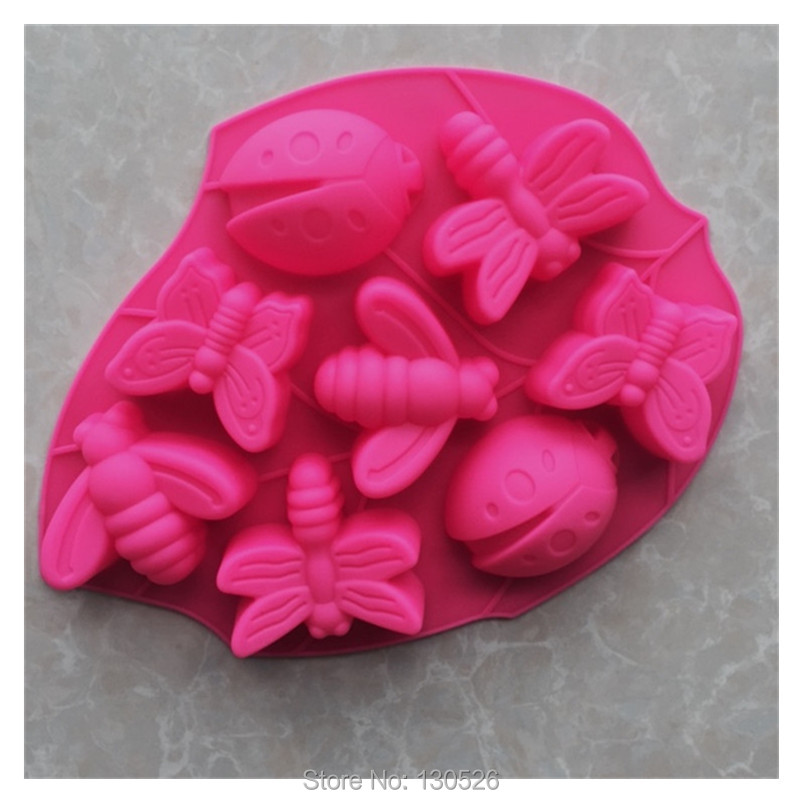 1x Butterfly Chocolate Candy Cake Silicone Mold Baking Pan Bakeware Tool Mould