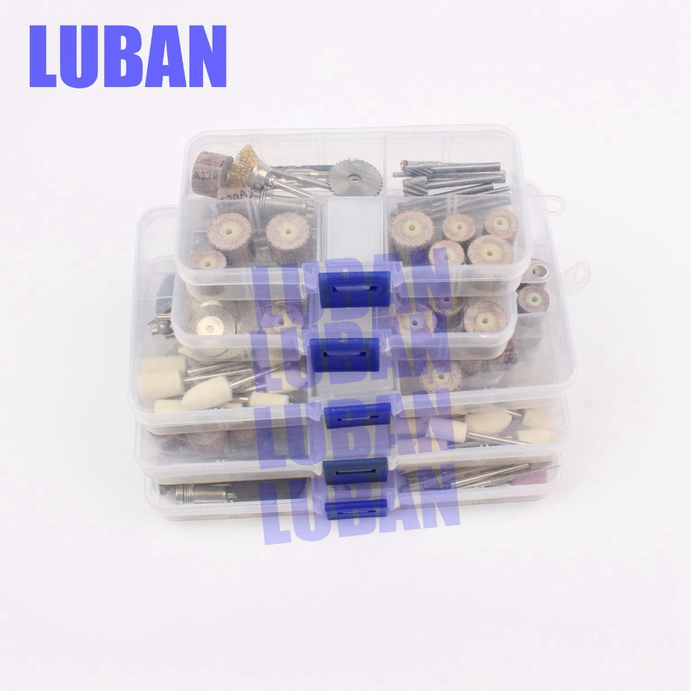 150pcs Rotary Tool Accessories Mini Drill Bit Set Fit Dremel Acessories Best Quality For Milling Polishing Drilling Cutting Engraving Tools