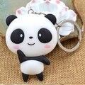 Lindo Panda de La Historieta Colgante Llavero Bolso Colgante Llavero de Regalo de Navidad