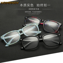 Fashion Personality Oversized Square Frame Classic TREND Spectacles with Optical Lenses or Photochromic Gray / Brown