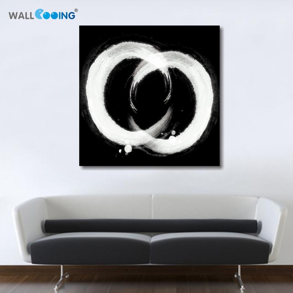 Canvas Painting Set Modern Abstract Oil Paintings Abstrato Quadro  -> Quadro De Parede Para Sala Abstrato