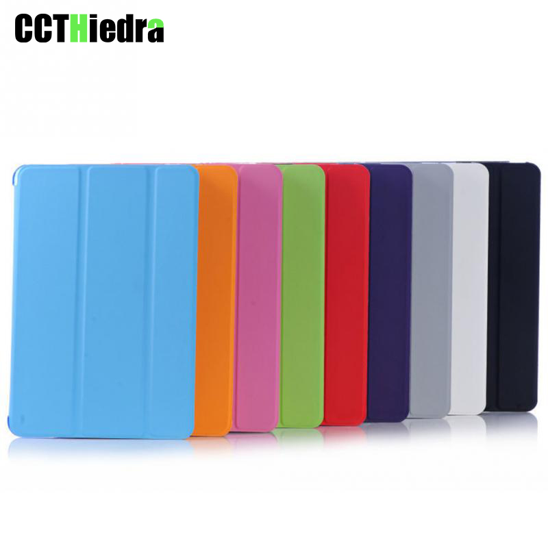 Case For iPad 2 3 4 Case Back Folio Stand with Auto Sleep/Wake Up Solid Color PU Leather Smart Cover for Apple iPad 4 3 2 Cases protective pu leather stand folio case cover for apple ipad mini