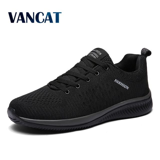 2019 New Mesh Men Casual Shoes Comfortable Men Shoes Lightweight Breathable Walking Sneakers Tenis Feminino Zapatos Big Size 47 1