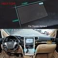7 Дюймов GPS Навигации Экран Стали Защитная Пленка Для Toyota Alphard Управления ЖК-Экран Стайлинга Автомобилей Стикер