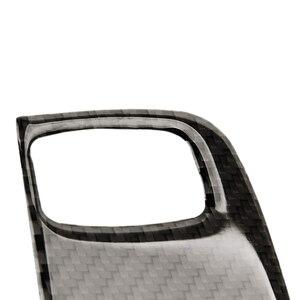 Image 2 - アウディ A4 B8 2009 2010 2011 2012 2013 2014 2015 2016 炭素繊維イグニッションキーホールのフレームカバー