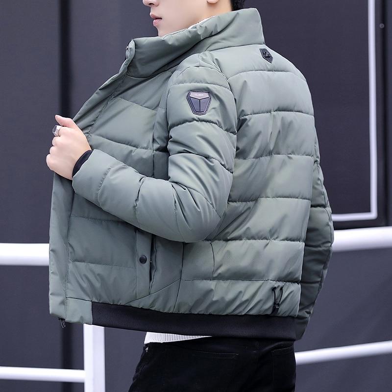 2018 Winter Jacket Men Casual Male Thicken Coat men   parka   warm winter fashion Outwear cotton padded Jacket coat