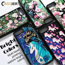 CASEIER Glitter QuickSand Phone Case For iPhone 6 6s 7 8 Plus X Cases Bling Cover Funda Capinha Accessories