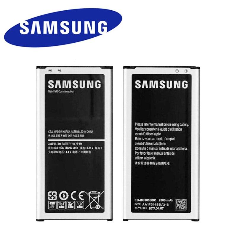 Original Batterie für Samsung Galaxy S5 G900 G900S G900I G900F G900H 9008 v 9006 v 9008 watt EB-BG900BBE EB-BG900BBU EB-BG900BBC NFC