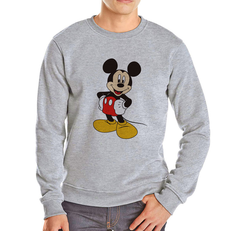 Famous Cartoon Star Mickey Hoodies Cheap Sale Brand Cartoon Hoodie Men Harajuku Cartoon Mickey Sweatshirt Casual Cotton Clothes