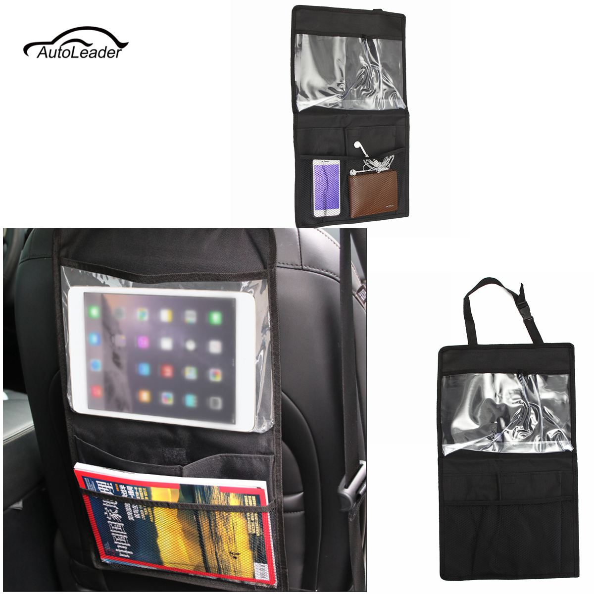 Auto Organizer Tablet Us 4 02 6 Off Auto Car Seat Back Organizer Storage Box Tablet Holder Stowing Tidying Storage Hanging Bag Travel Multi Pocket Organiser In Stowing