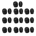 10pcs/lot  Chunky Volume knob + Channel Selector Knob for Motorola Two Way Radio Walkie Talkie  PTX760 GP328 HT750 EP450 PRO5150
