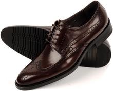Мода черный/коричневый загар острым носом мужские ботинки платья свадебные туфли из натуральной кожи мужские oxfords обувь бизнес обувь