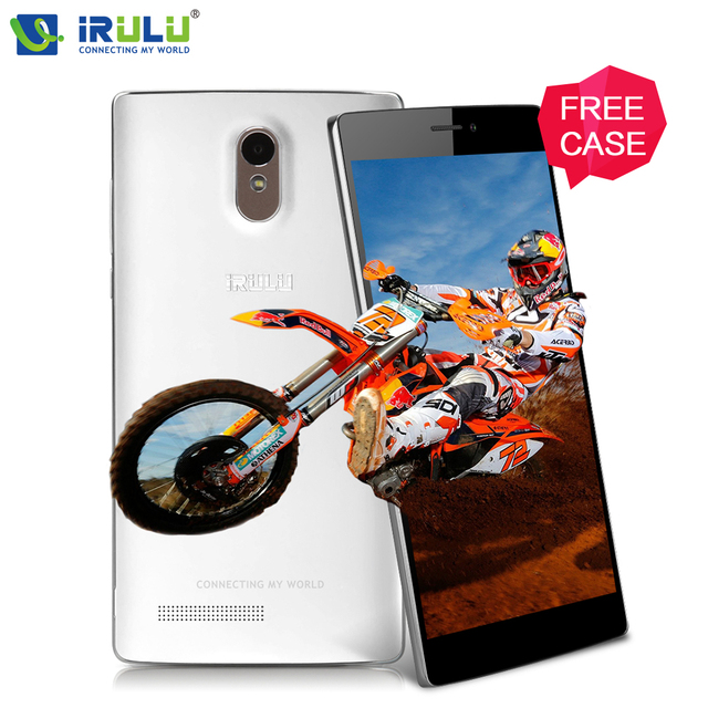 "iRULU Victory V3 EU 6.5""HD IPS 4G Smartphone MSM8916 Android 5.1 Quad Core 2GB/16GB 13MP Dual SIM 3000mAh Smart phone Free Case"