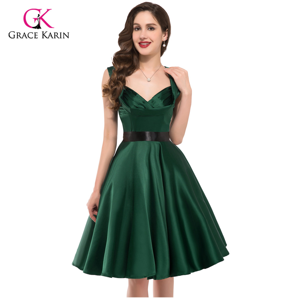 2018 Womens Party Dresses Summer Style 50s 60s Vintage