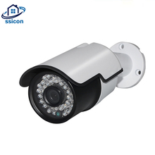 цена на SSICON 2MP 4MP CCTV Outdoor Home Camera 3.6mm Lens IR 20M Night Vision OSD Cable Waterpooof 4 IN 1 HD Security Camera Bullet
