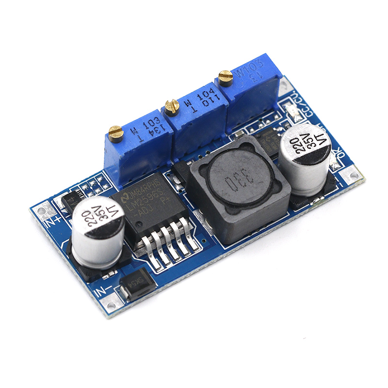 LM2596 DC-DC Step Down CC CV Power Supply Module LED Driver Battery Charger Adjustable LM2596S Constant Current Voltage Good