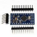 10 unids Nueva pro mini electronic building blocks Interactive Media ATMEGA328P 3.3 V/16 M para arduino Compatible Con Nano