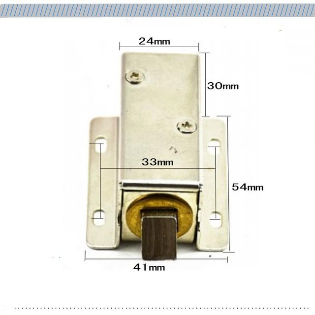 Electromechanical door cabinet Lock Micro operator Small electric locks drawer electronic locks Automatic Access Control