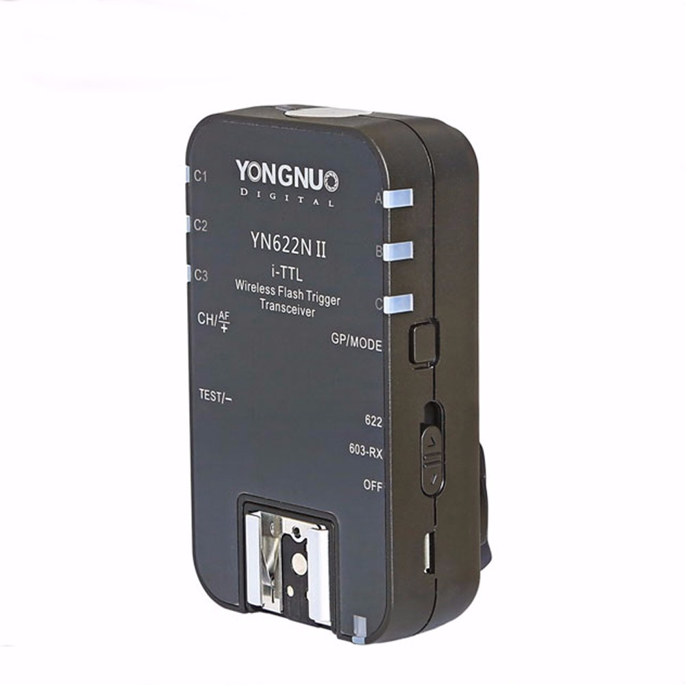 Prix pour YONGNUO YN-622N II TTL Sans Fil Déclencheur Flash unique YN-622N II pour Nikon D800 D700 D600 D610 D300 YN-622N II RX