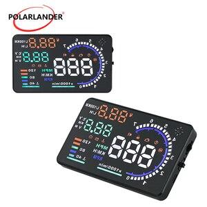 Car HUD GPS A8 Scanner Speed W