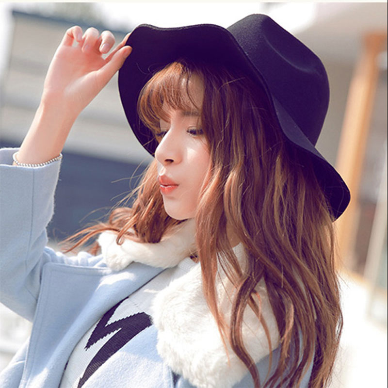 2017 Fascinator Outdoor Hats For Man Foldable Wide Large Brim Trilby Hats For Women Jazz Caps