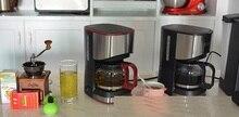 KG01-5,free shipping,American household fully-automatic drip coffee machine,tea machine,  cup semi-automatic coffee machine