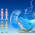 Elfos Mágicos Nadar Corpo Gracioso RC Subaquática marinha Sereia Toy Banho Do Bebê