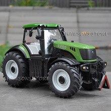 1:30 литой металл JCB V-TRONIC 8250 Трактор модель игрушки грузовик Реплика Звук большой