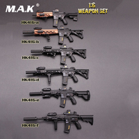 8 Styles 16cm Gun 1/6 Scale Figure Weapons Model Accessories HK416 & M4 Series Gun Model Toys For 12 Army Solider Action Figure
