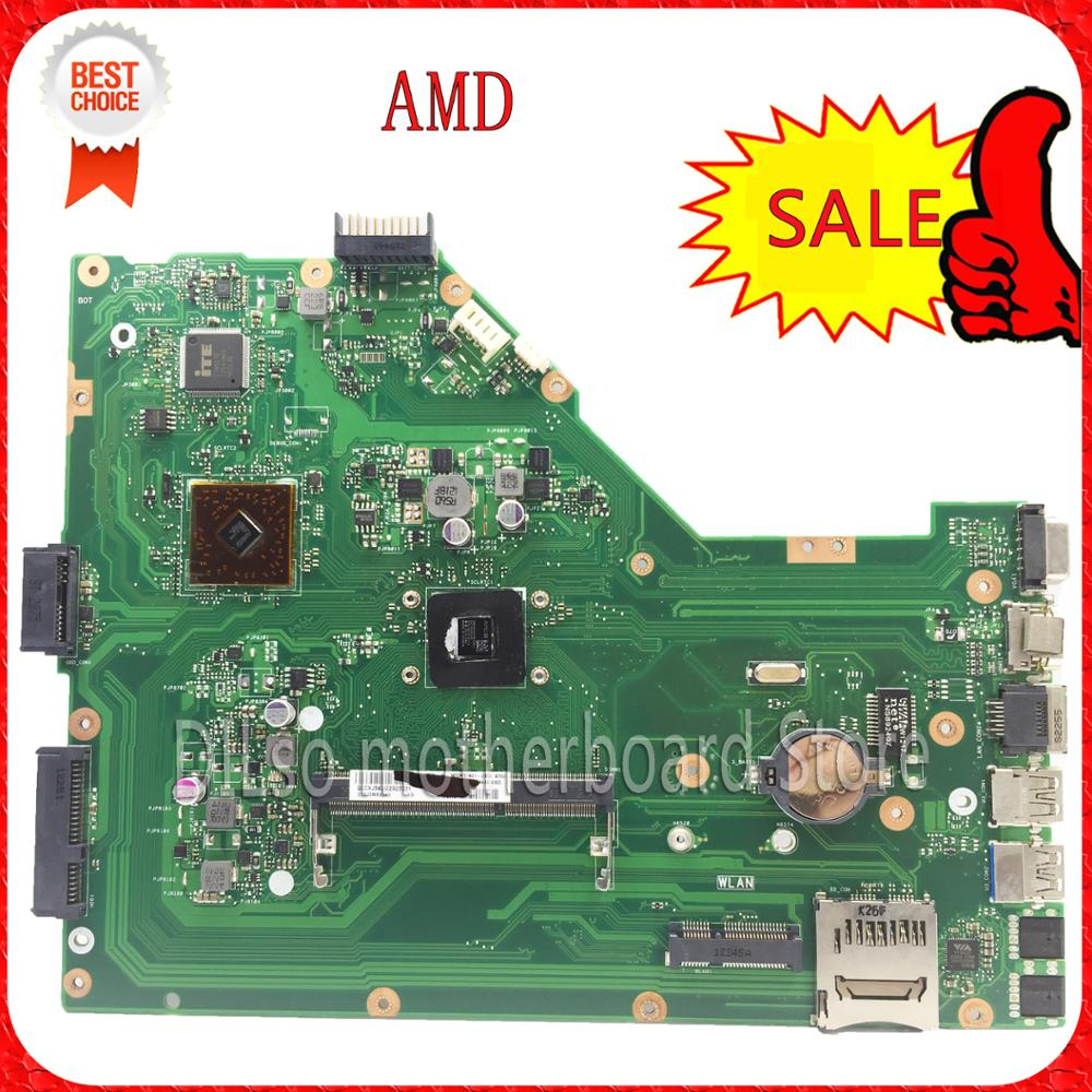 цены  For ASUS X55U Integrated AMD Laptop motherboard  mainboard 100% tested freeshipping