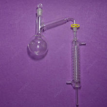 Дистилляционный аппарат, 250 мл, лабораторный комплект посуды, абсолютно, дистилляционный комплект