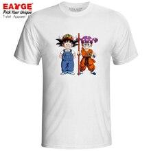 A Kawaii Couple T-shirt Goku Arale Dragon Ball Crossover Funny Active Fashion T Shirt Style Print Creative Women Men Tee