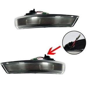 Image 4 - 2 Pcs LED Bên Cánh Gương Chiếu Hậu Chỉ Báo Blinker Repeater Năng Động LED Tín Hiệu Cho Xe Ford FOCUS 2 3 Mondeo