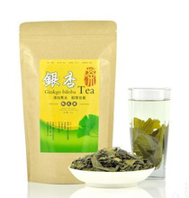 Chinese herbal tea 2pcs*250g=500g premium Ginkgo biloba leaves ginkgo tea organic lower blood pressure  health care promotion