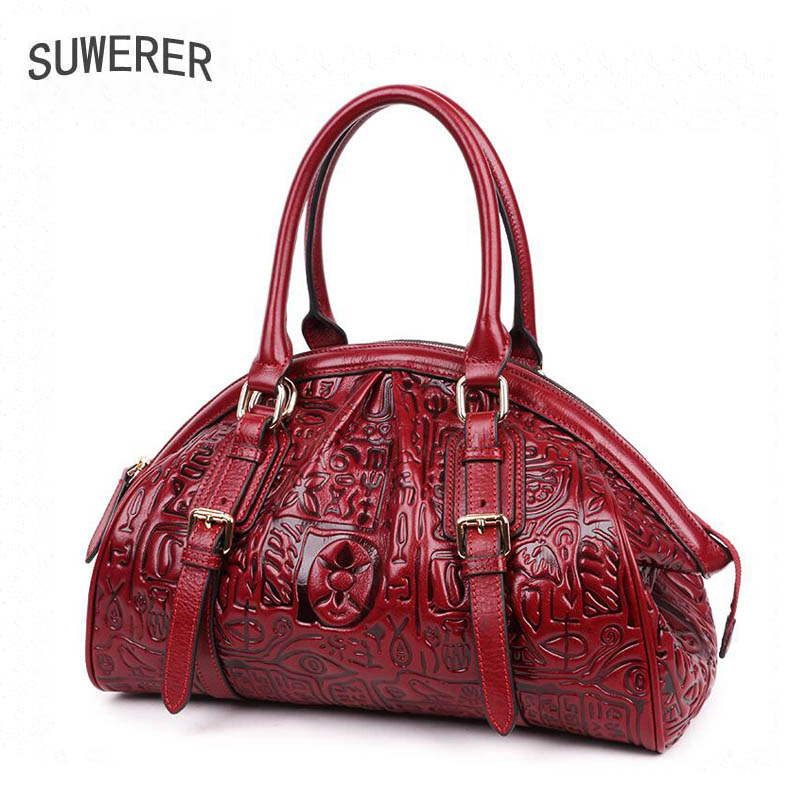 Women Genuine Leather bag 2018 new luxury handbags women bags designer top Cowhide women bags handbags women famous brands